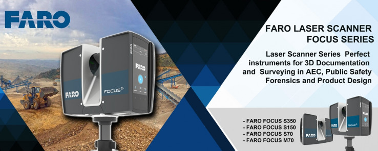 FARO LASER SCANNER FOCUS SERIES